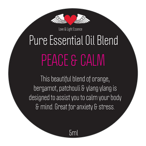 Pure Essential Oil Blend - PEACE & CALM