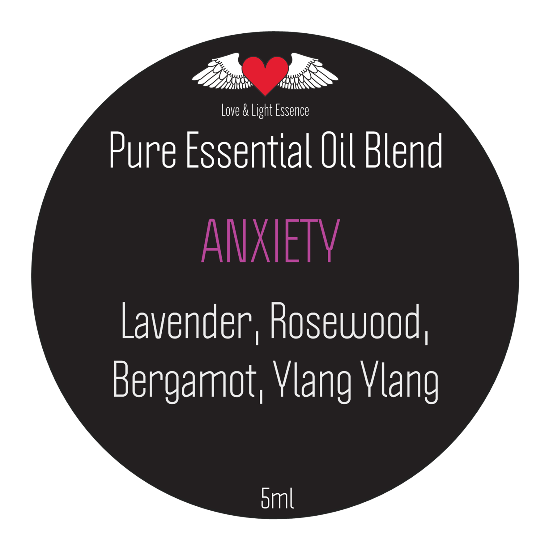 Pure Essential Oil Blend - Anxiety