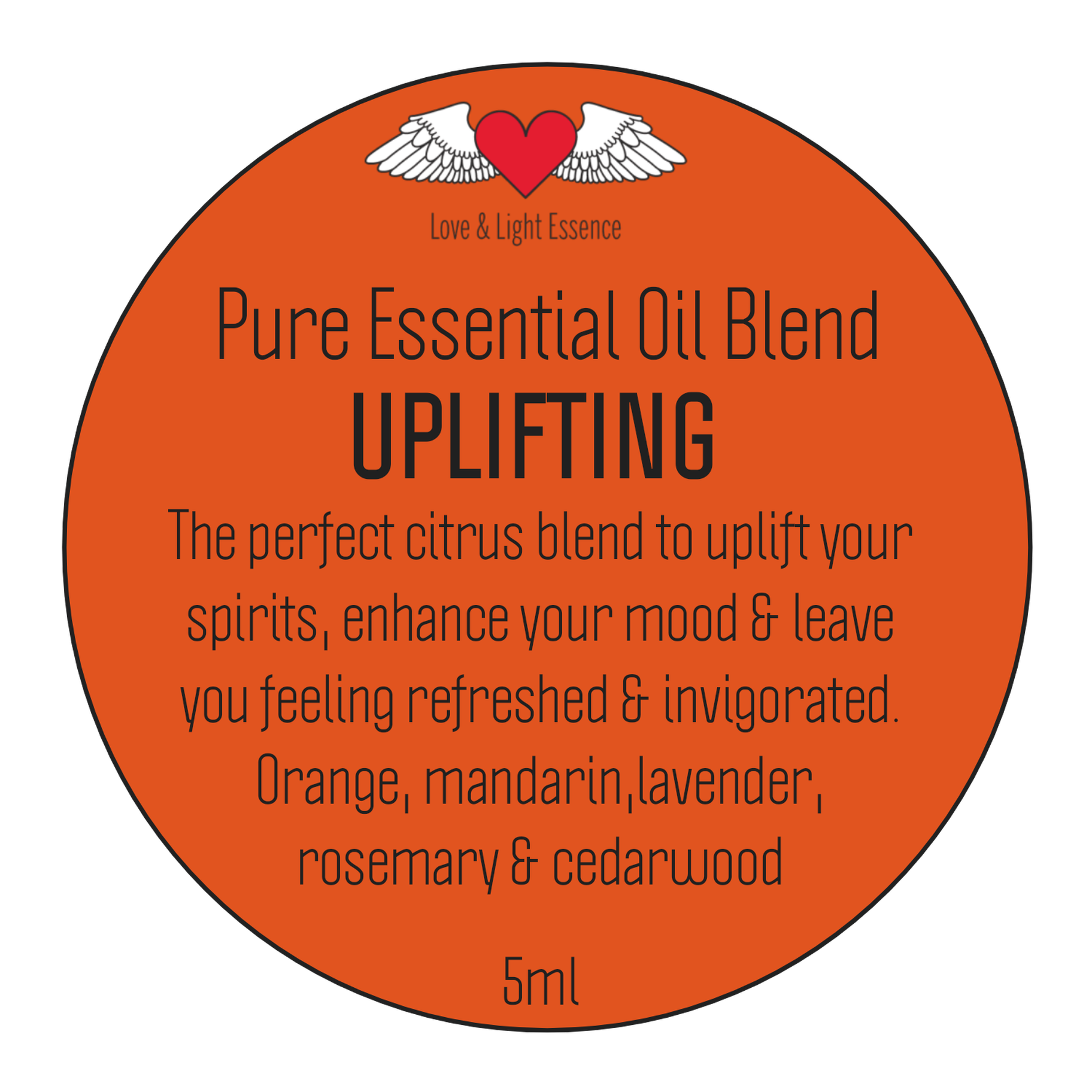 Pure Essential Oil Blend - UPLIFTING