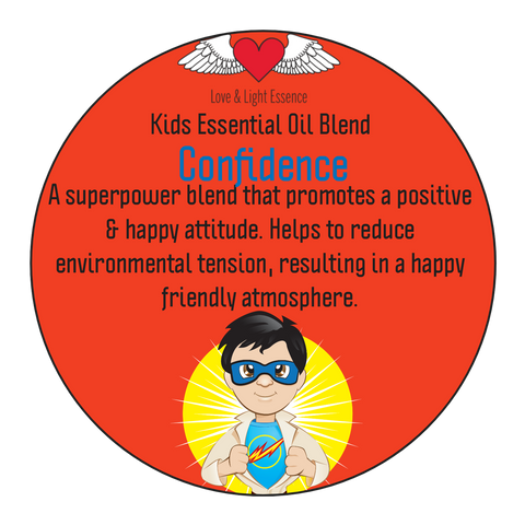 Kid's Range - Pure Essential Oil Blend - CONFIDENCE