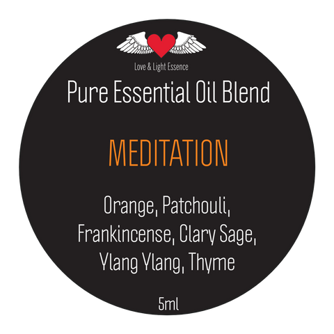 Pure Essential Oil Blend -MEDITATION