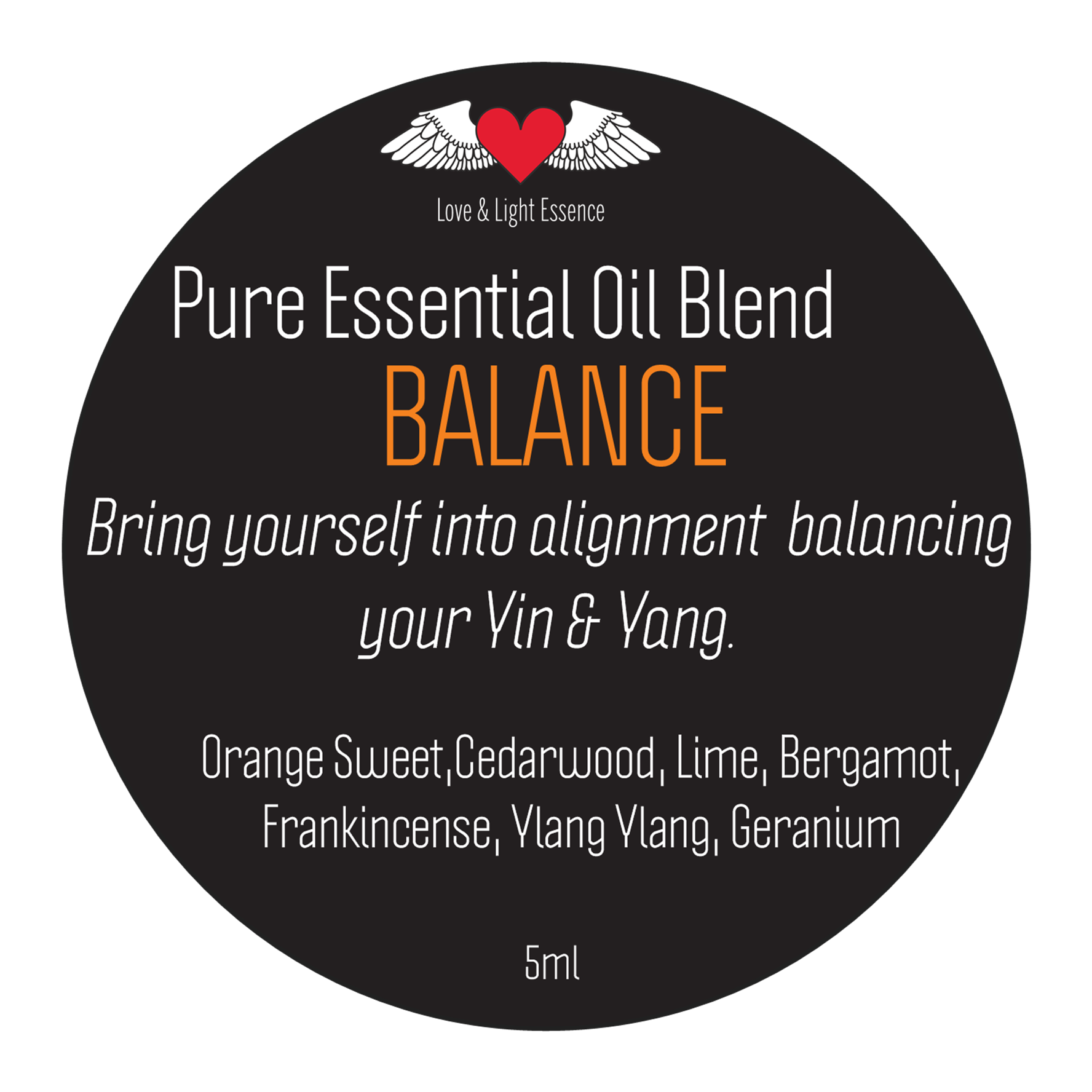 Pure Essential Oil Blend - BALANCE