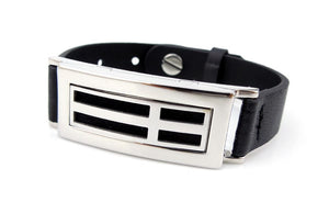 New Style Rectangle Leather Diffuser Bracelet