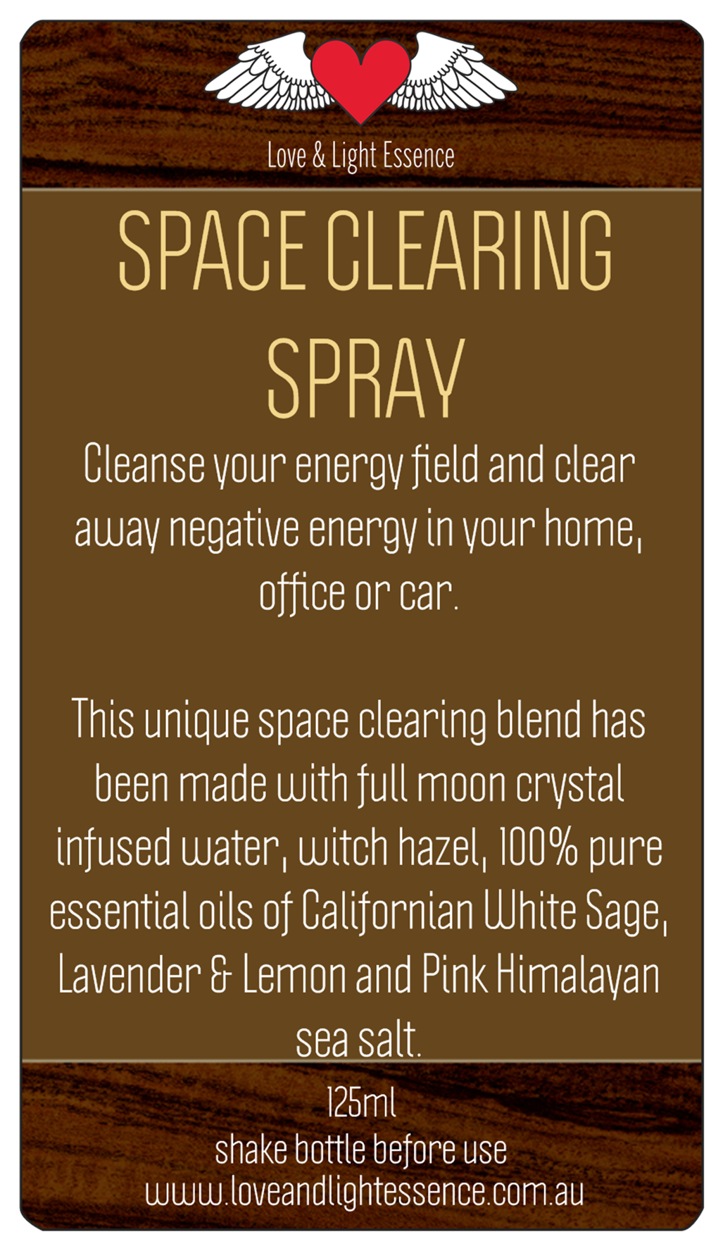White Sage Space Clearing Spray