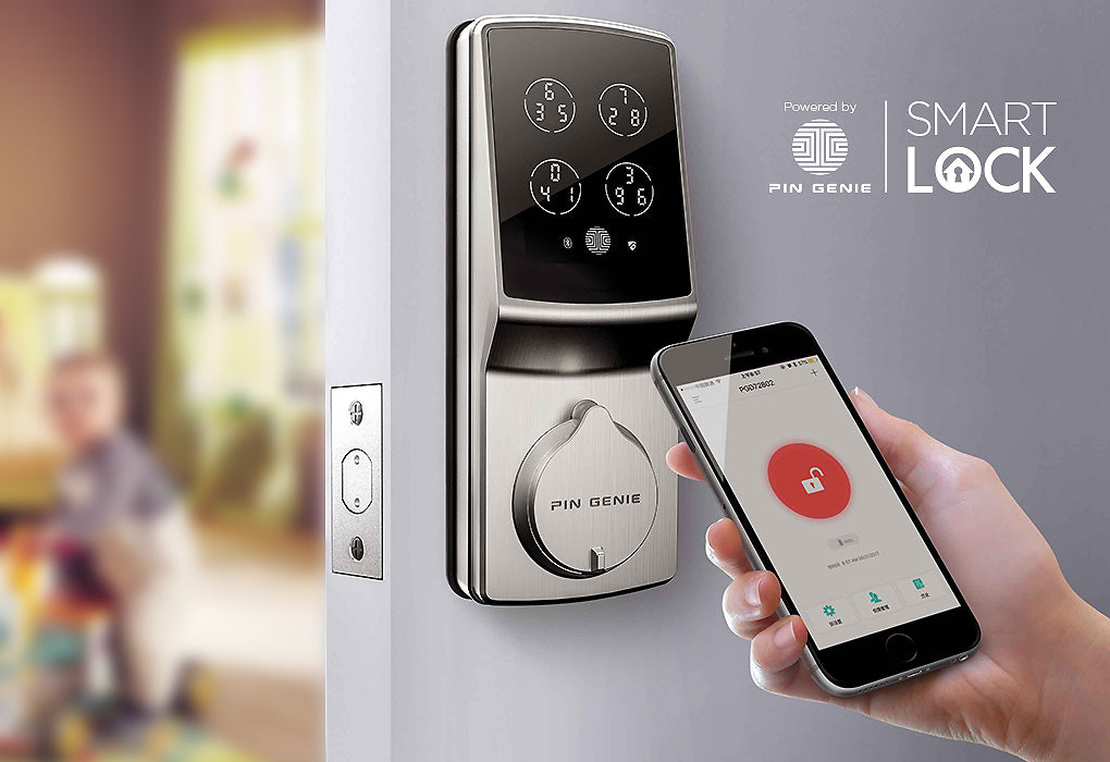 PIN Genie Smart Lock Pro App-Controlled Digital Lock