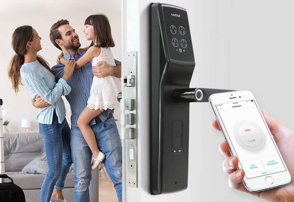 Lockly Secure Lux Mortise Smart Lock