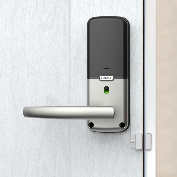 Lockly™ Secure Lux: 3D Fingerprint, Bluetooth App, Smart Card, Patented Keypad, Offline Access Code
