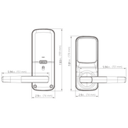 Lockly® Secure Plus Latch Lock