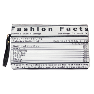Fashion Facts Clutch