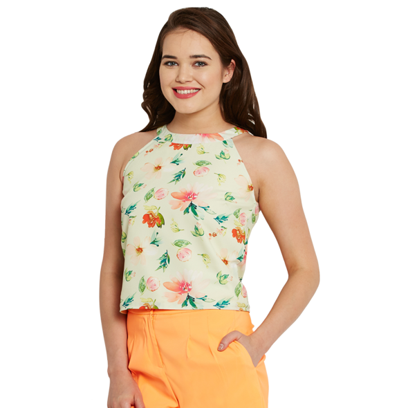 Sleeveless Floral