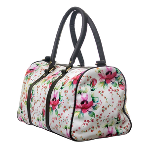 Floral Duffel Bag