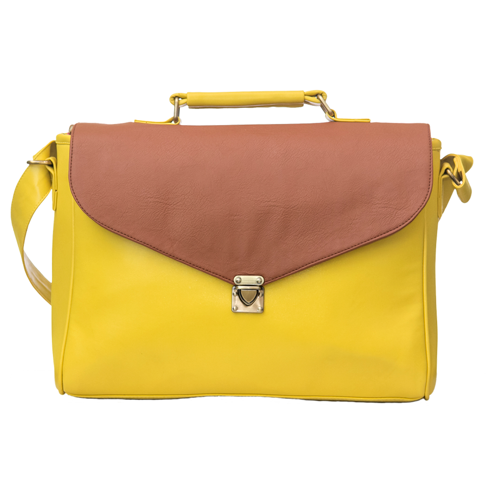 Yellow Laptop Bag