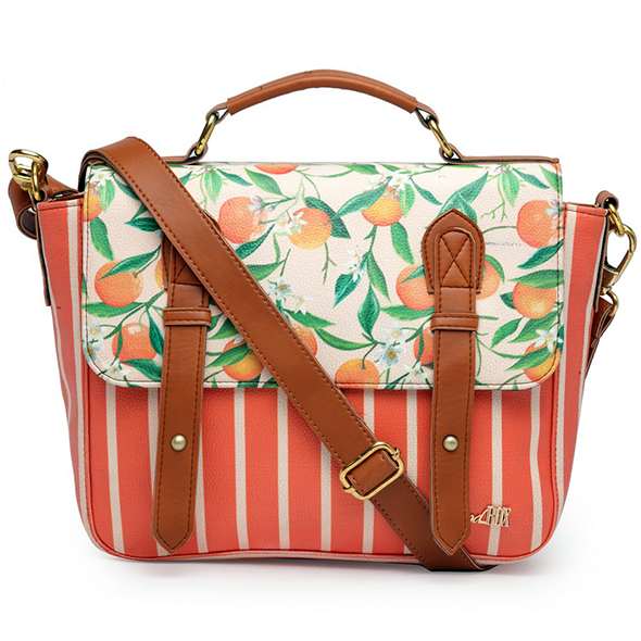 Tropical Satchel Bag