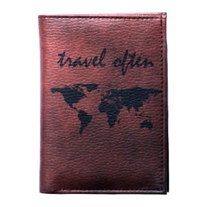 Travel Often Wallet & Passport Cover