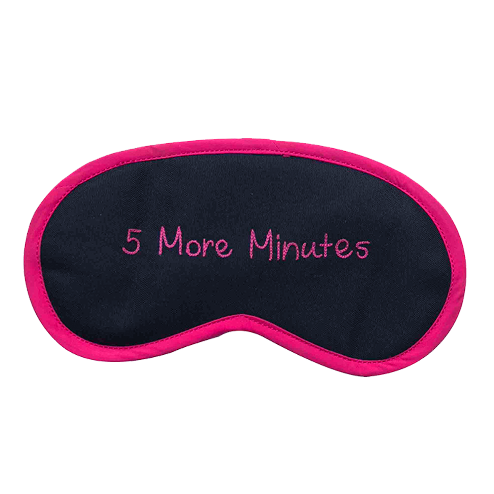 5 More Minutes (Pink) Eye Mask