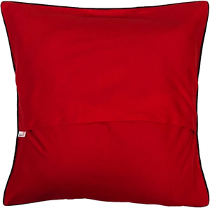 Ace Of Spade (Red) Cushion Cover