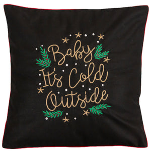 Baby It's Cold Outside Cushion Cover
