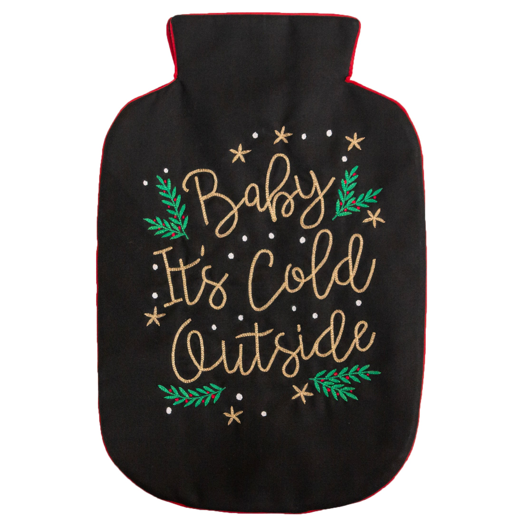 Baby It's Cold Outside Hot Water Bag Cover