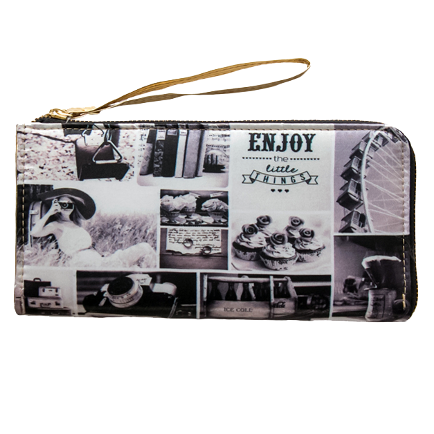 Black N White Wallet