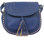 Blue Saddle Bag