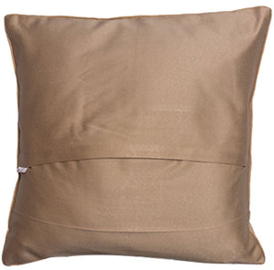 Winter Love Beige Cushion Cover