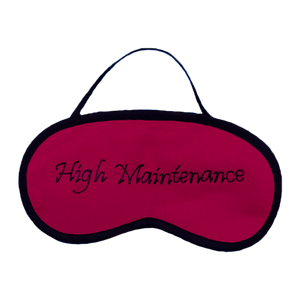 High Maintenance (Pink) Eye Mask