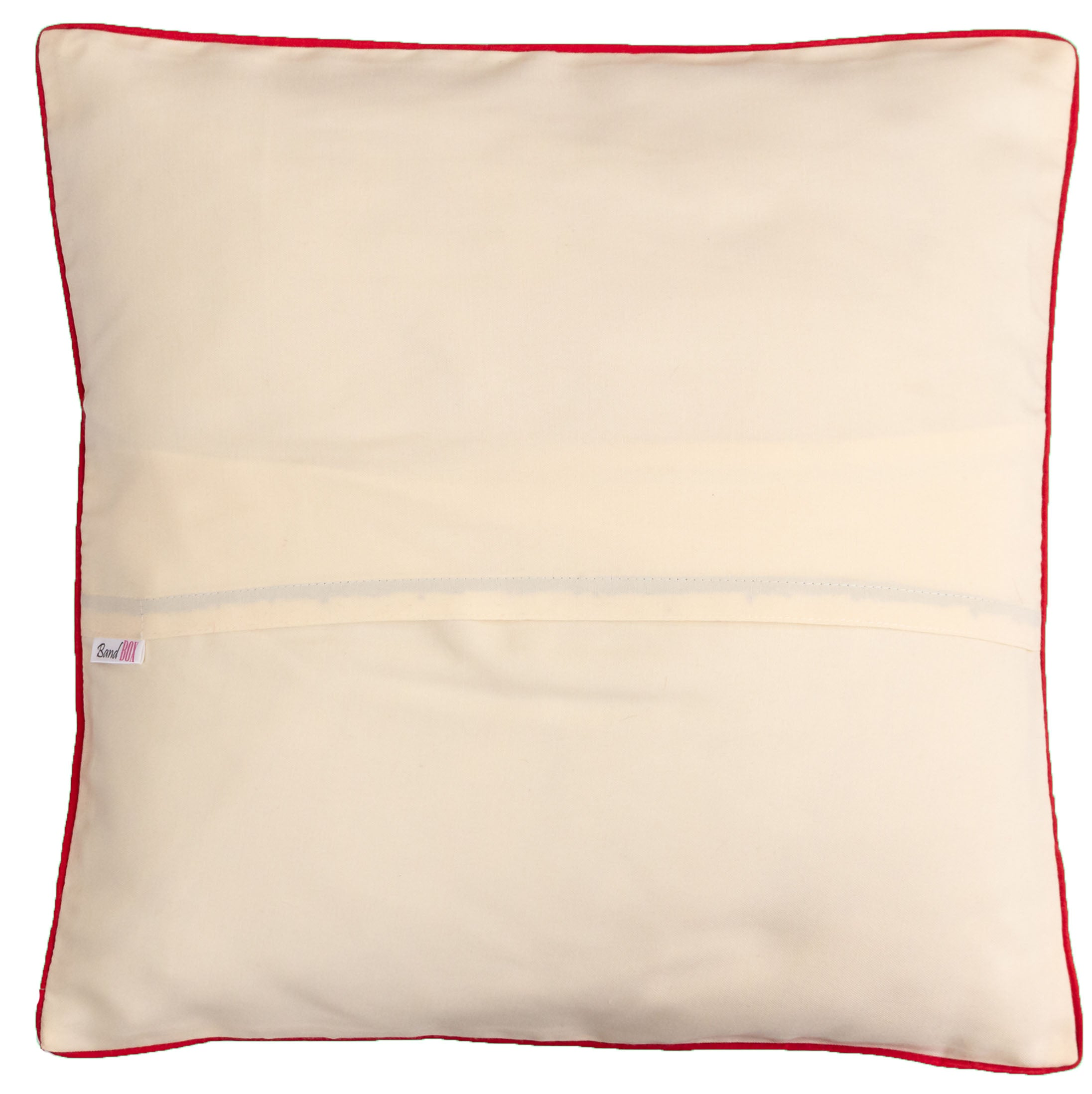 Ho Ho Ho Off White Cushion Cover