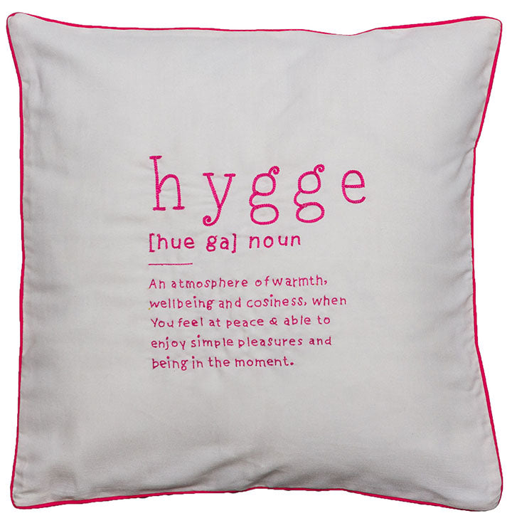 Hygge [Hue Ga] Noun Cushion Cover