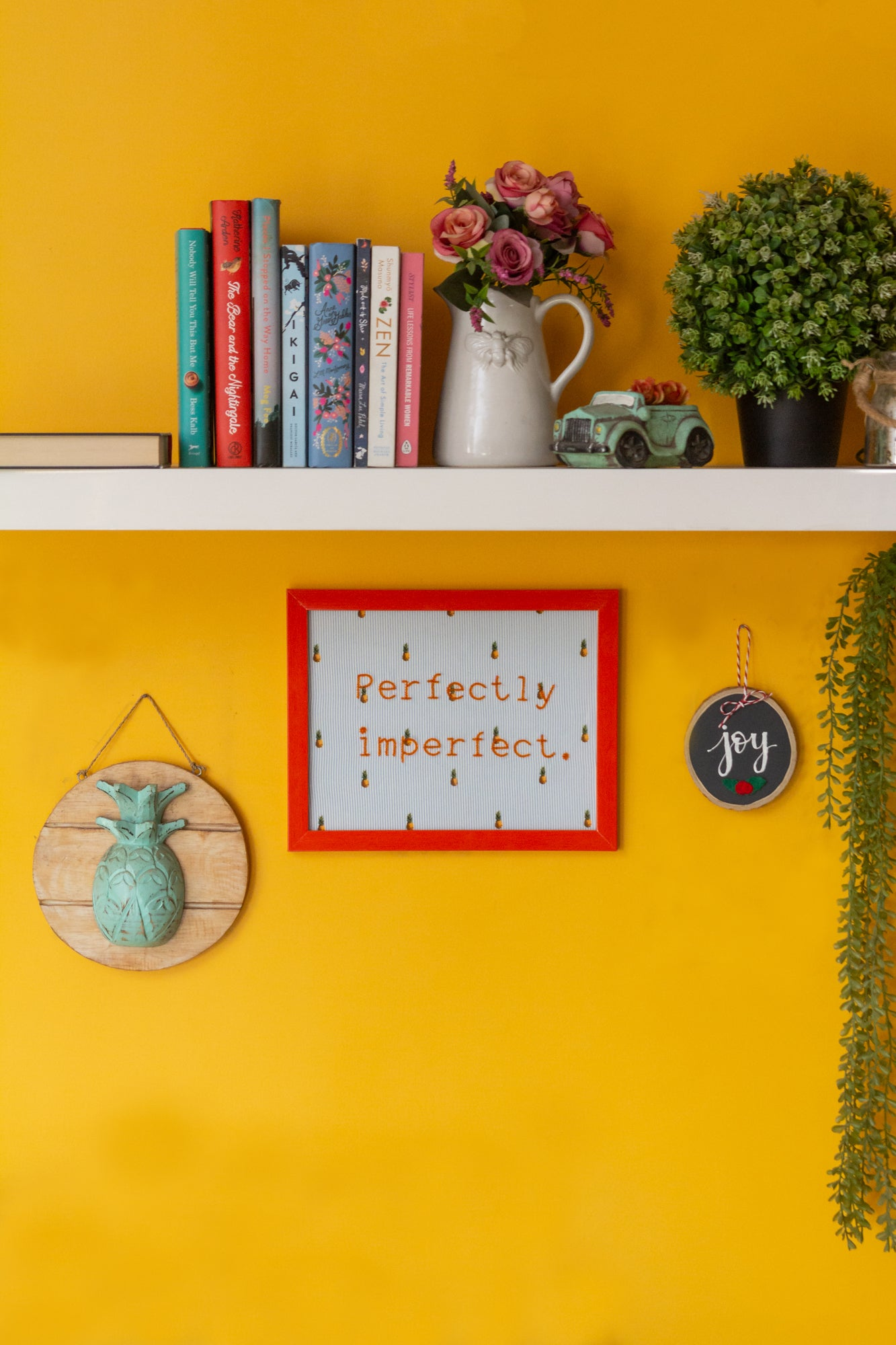 Perfectly Imperfect Wall Frame