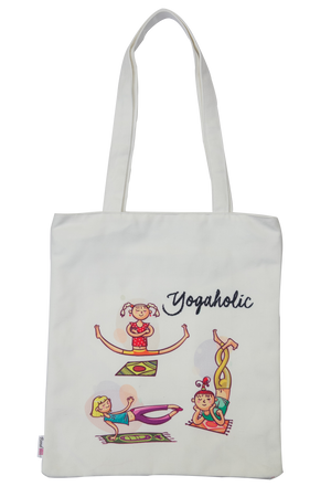 Yogaholic Canvas Bag