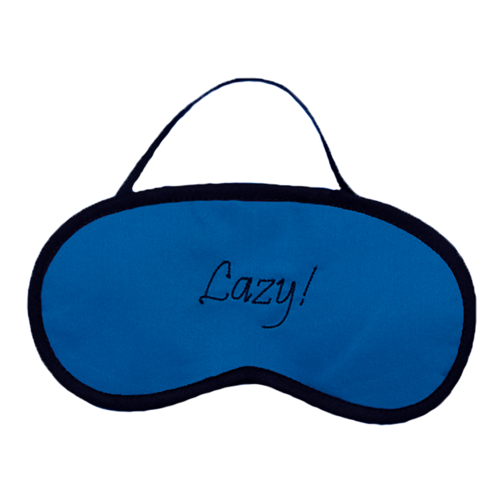 Lazy (Blue) Eye Mask
