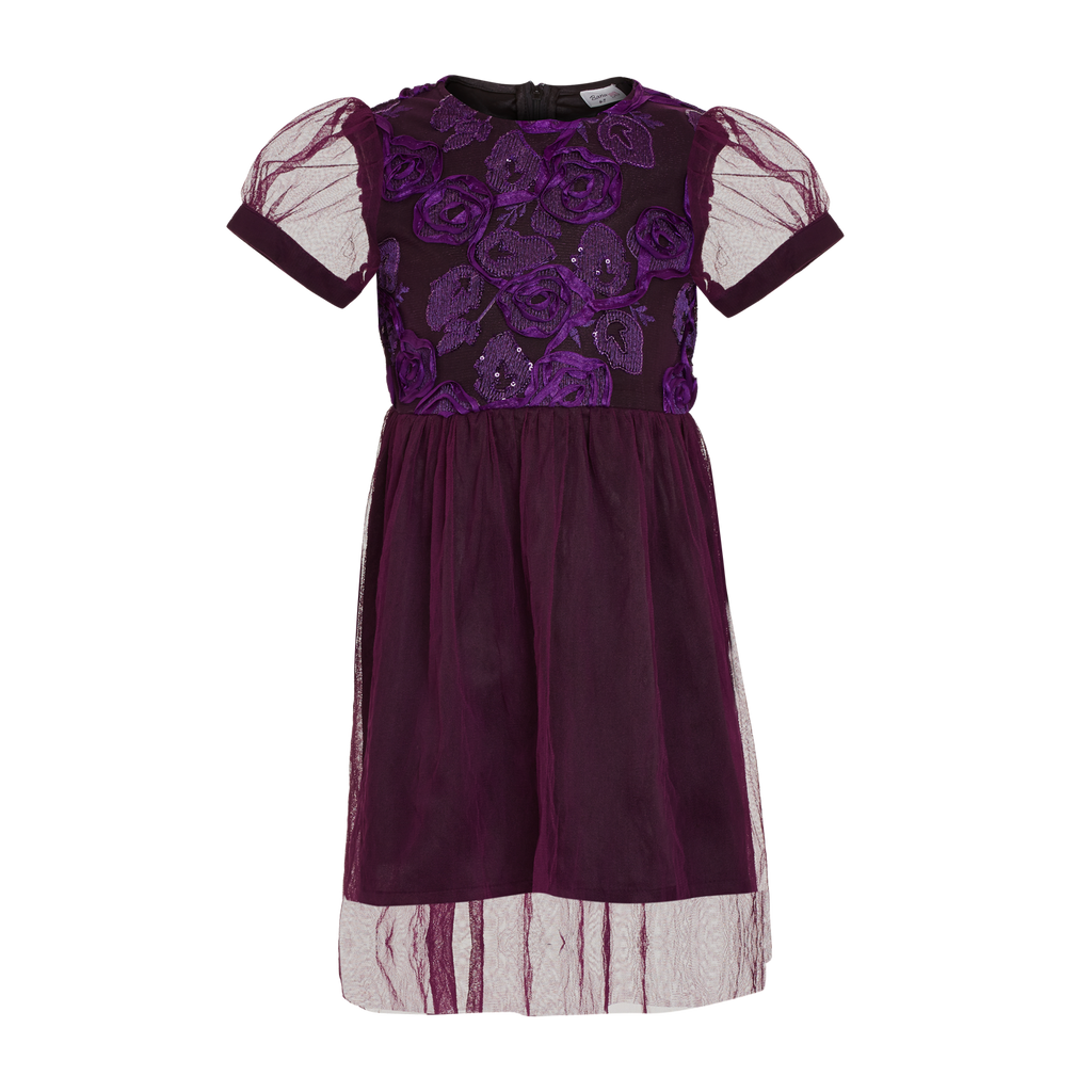 Purple Rose Dress