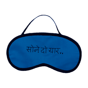Sone Do Yaar (Blue) Eye Mask