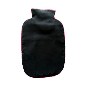 SNUGGLE UP BLACK HOT WATER BAG COVER