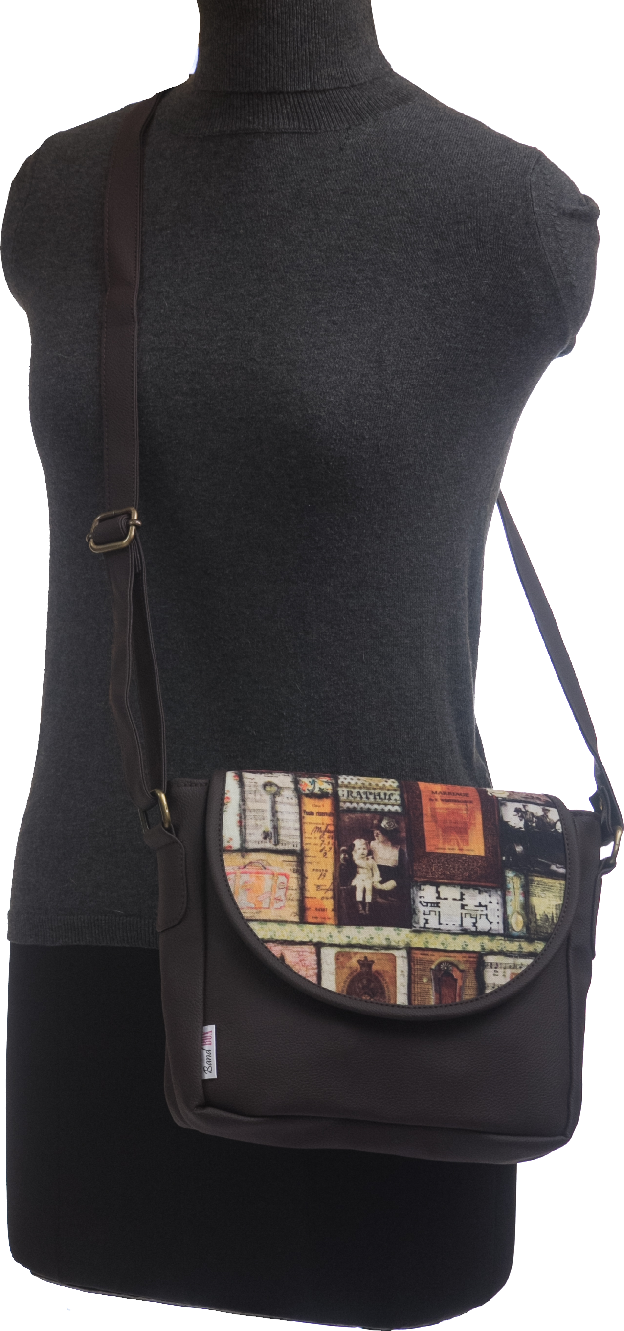 Vintage Paris Sling Bag