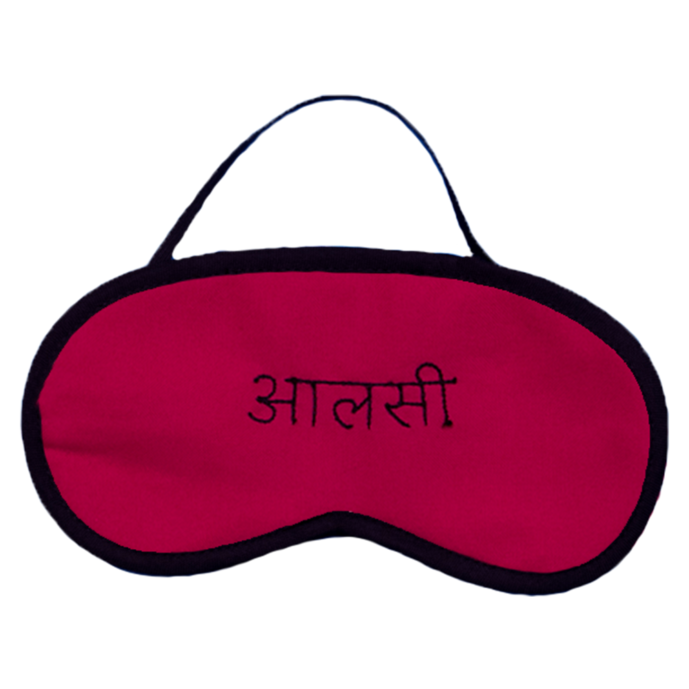 Aalsi Pink Pink Eye Mask