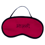 Aalsi (Pink) Eye Mask