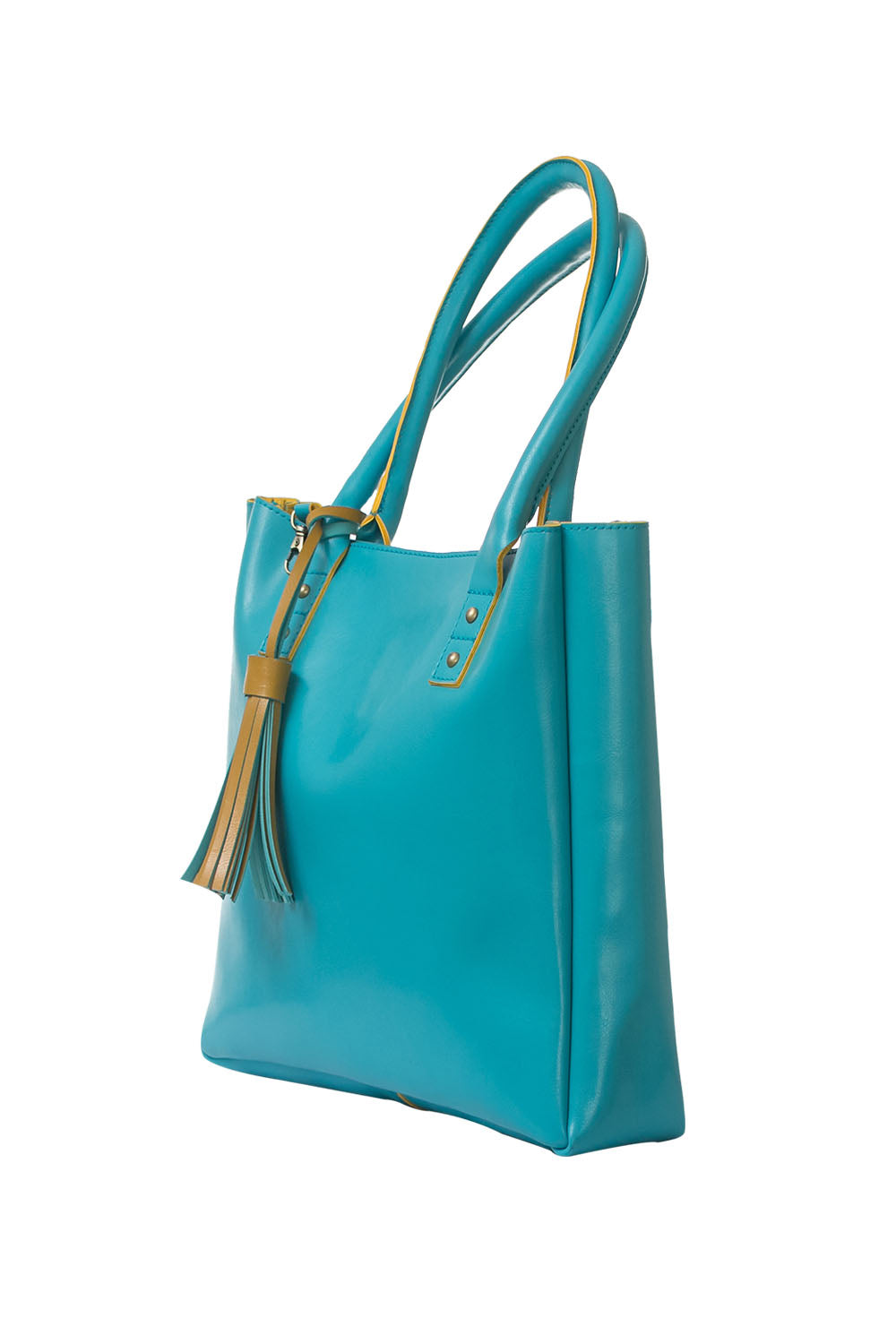 Blue Vibrant Tote Bag