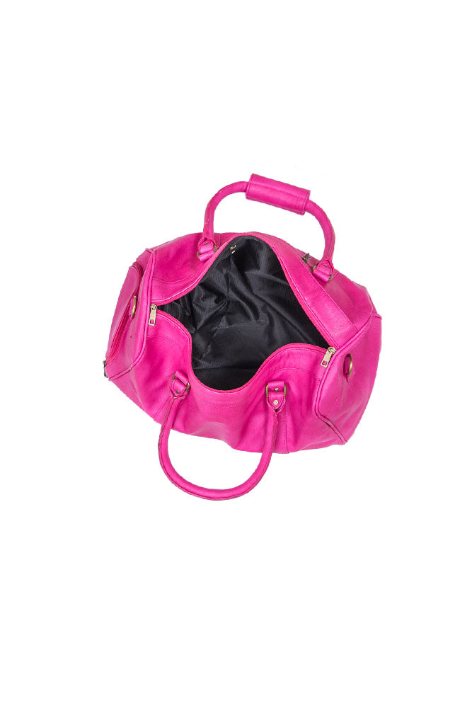 Pink Duffel Bag