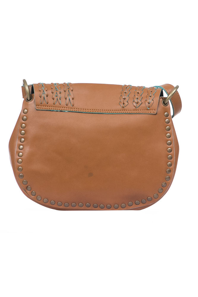 Brown Saddle Bag