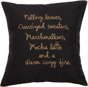 Winter Love Cushion Cover