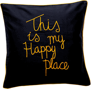This Is My Happy Place Cushion Cover