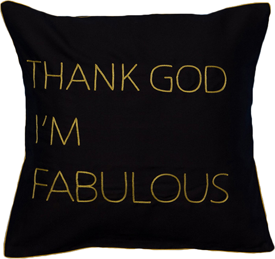 Thank God Cushion Cover
