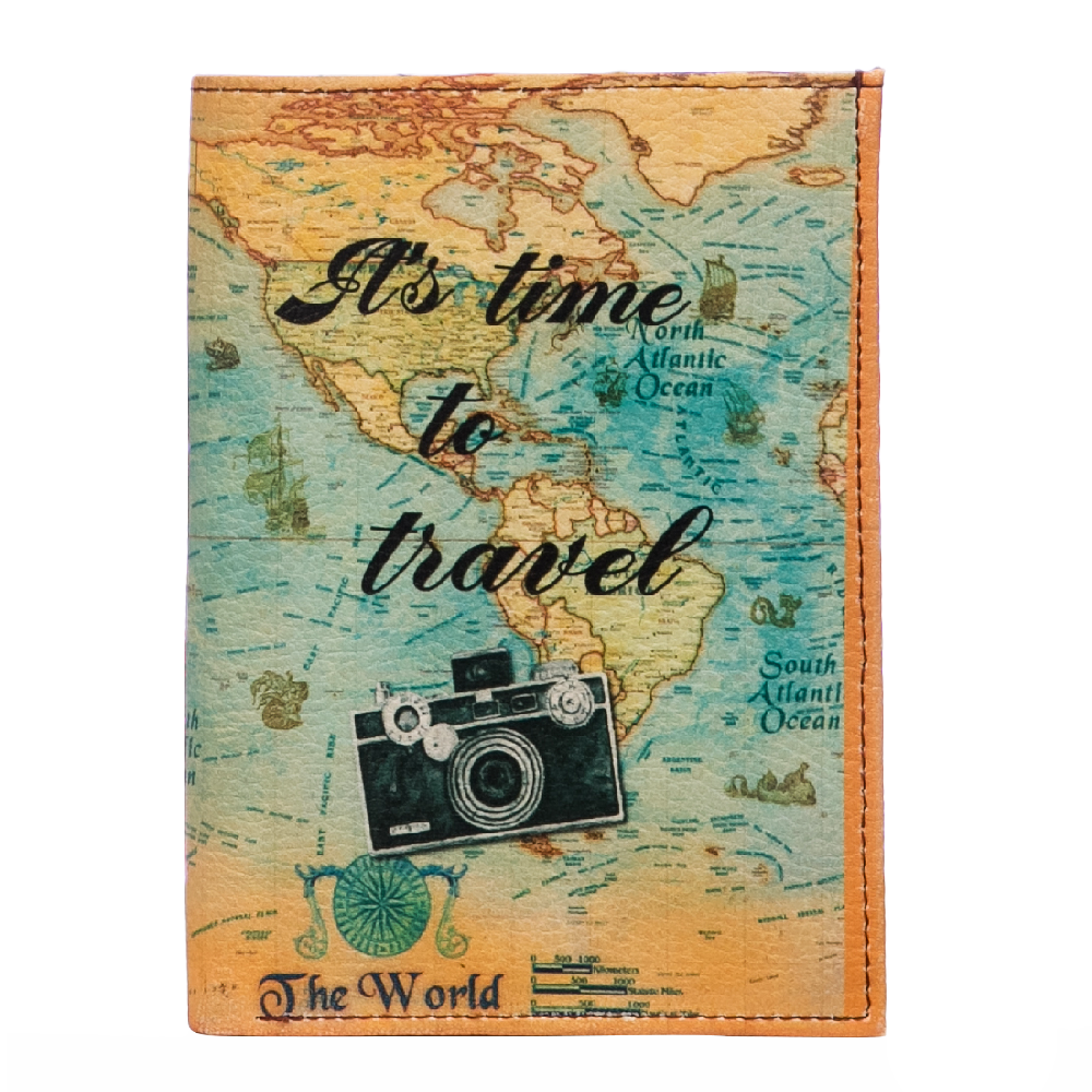 Travel Time Wallet & Passport Cover