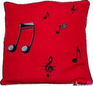Music Cushion Cover