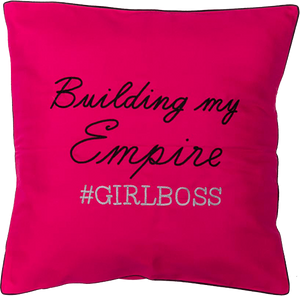 Girl Boss Cushion Cover