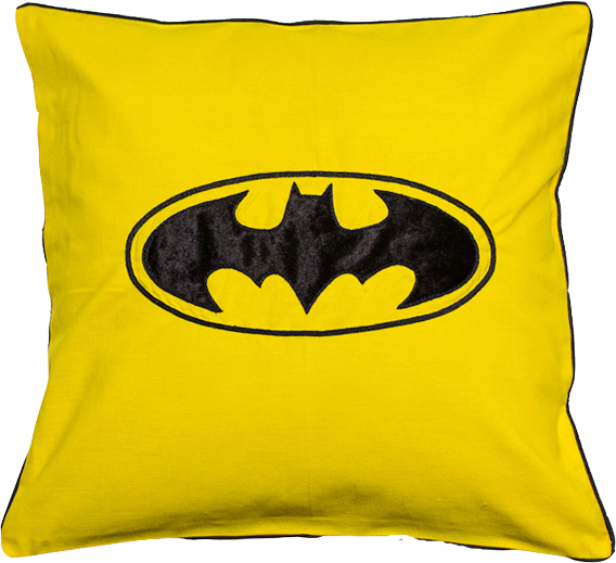 Batman (Yellow) Cushion Cover