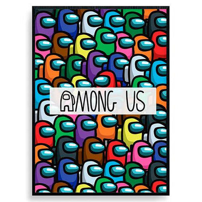 Among us plakat