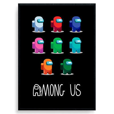 Among us plakat #3
