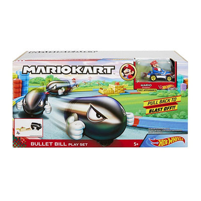 Hot Wheels Mario Kart Bullet Bill Launcher